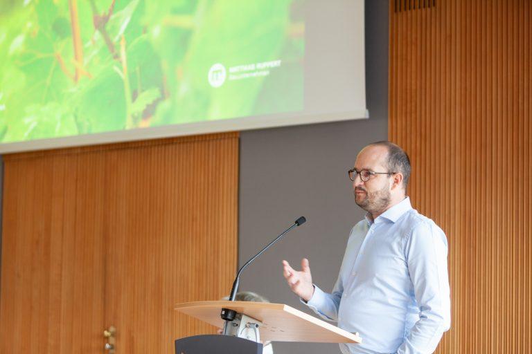 Präsentation Stephan Ruppert in Saarburg